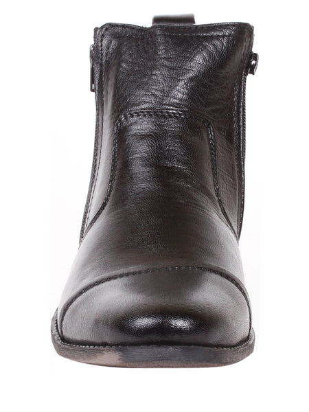 Men's Fine Formal Chart Zip Up Fastening Formal Chelsea Work Boot Styling | Jacksin Boots
