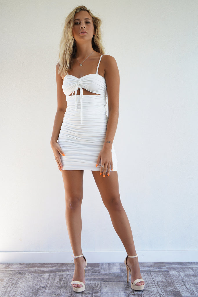 Vesna Dress - White