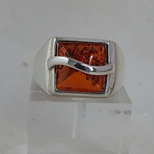 Square Cab Amber Ring - Front View