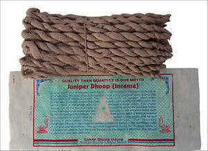 Tibetan Dhoop Rope Incense - Juniper or Sal