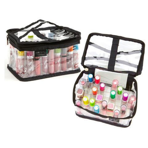 Clear PVC Makeup Lipstick Organizer Bag
