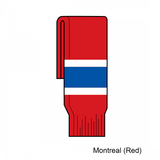 Kamazu FlexxICE SK200 Montreal Canadiens Team Knit Ice Hockey Socks - Home Red