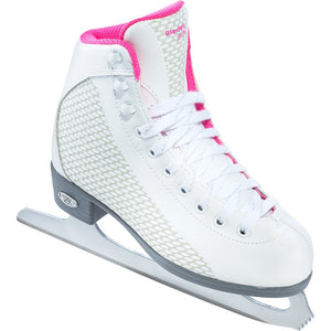 Riedell 13 Sparkle PINK Girls Figure Skates with GR4 Blade - PSH Sports