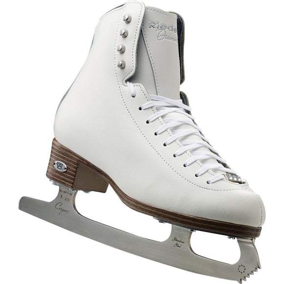 Riedell 133 Diamond Womens Figure Skates with Capri Blade - PSH Sports