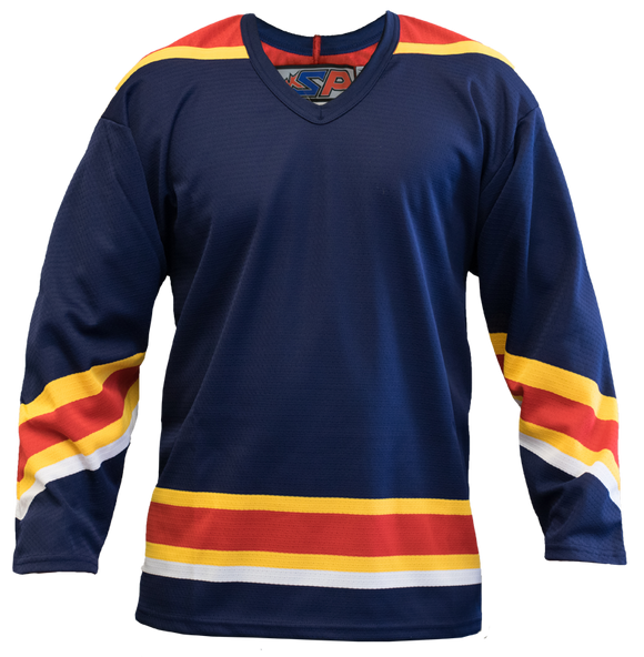 SP Apparel League Series Florida Panthers Navy Sublimated Hockey Jersey
