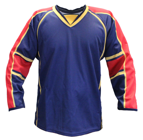 SP Apparel Evolution Series Florida Panthers Navy Sublimated Hockey Jersey - PSH Sports