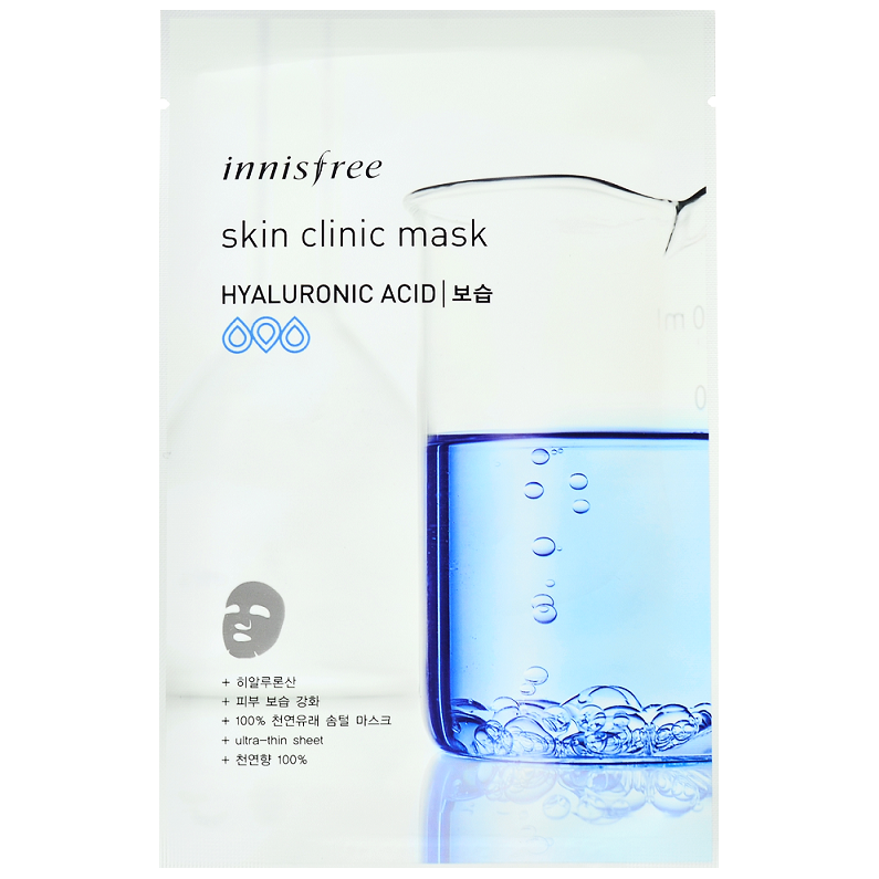 INNISFREE Skin Clinic Mask - Hyaluronic Acid | Shop Innisfree in Canada & USA at Chuusi.ca
