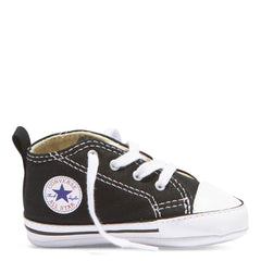 Baby Converse Chuck Taylor First Star Infant High Top Black Kids Shoes Australia Afterpay