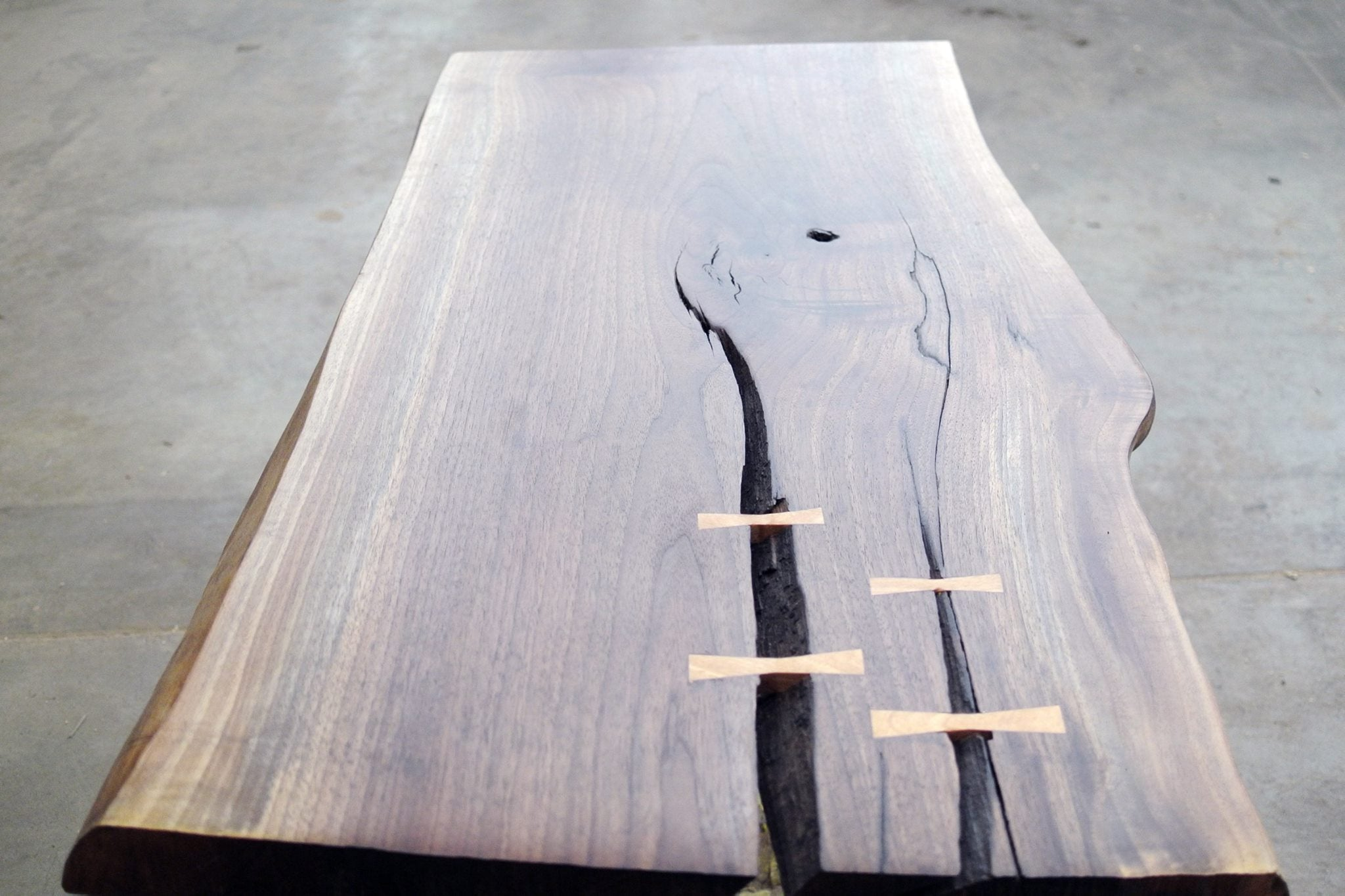 Live Edge Slab Coffee Table (September 19, 26, October 3, 10, 17)