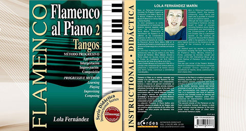 Flamenco al Piano 2 - Tangos (Audio MIDI/Libro de Partituras)