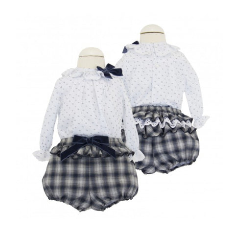 Blousie - Doodles and Daisy Chains - Spanish Baby Clothes - Classic Baby Boutique