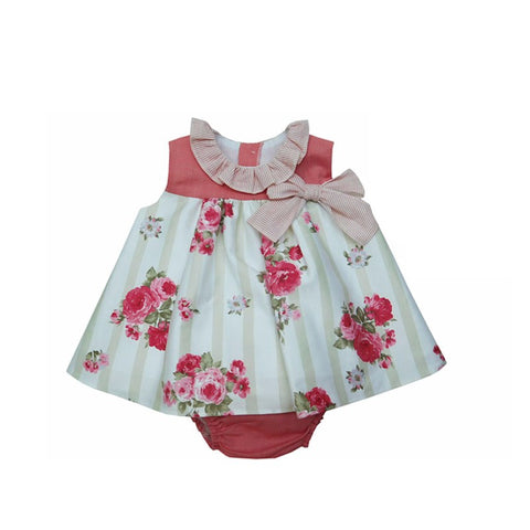 Maisy Dress - Doodles and Daisy Chains - Spanish Baby Clothes - Classic Baby Boutique