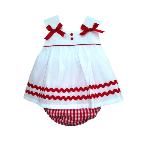 Scarlett - Doodles and Daisy Chains - Spanish Baby Clothes - Classic Baby Boutique