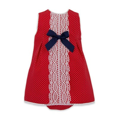 Sophia Dress Set - Doodles and Daisy Chains - Spanish Baby Clothes - Classic Baby Boutique