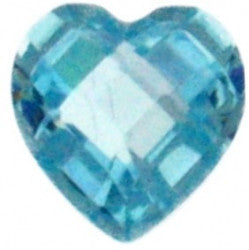 March Birthstone Heart - Pi Style Boutique - Center Court
