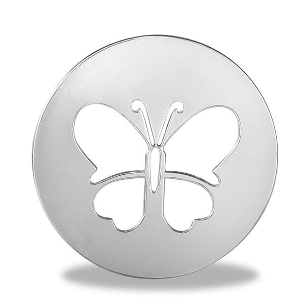 Butterfly Round Disk - Pi Style Boutique - Center Court