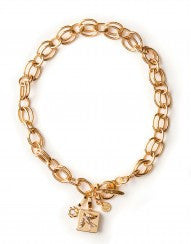 """Double Link"" - Spartina Charm Necklace"