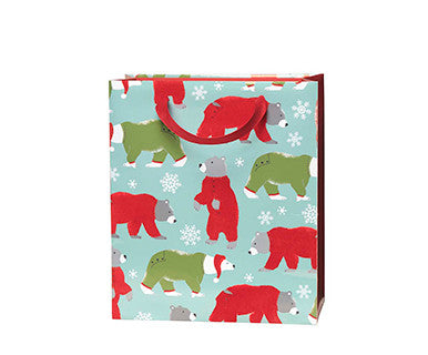 Bears In Pjs Standard Embellished Gift Bag - Pi Style Boutique - C.R. Gibson - Gifts & Decor