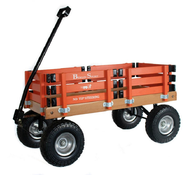ALL TERRAIN BERLIN FLYER WAGON - Beach Garden Cart in 8 Bright Colors AMISH USA