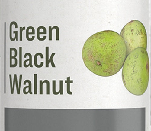 GREEN BLACK WALNUT - Healthy Circulation, Intestinal & Skin Support