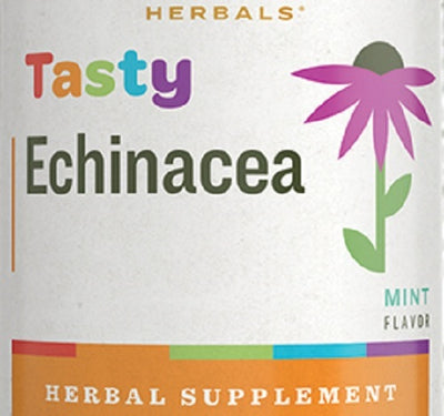 TASTY ECHINACEA - Mint Flavor Herbal Immune System Support