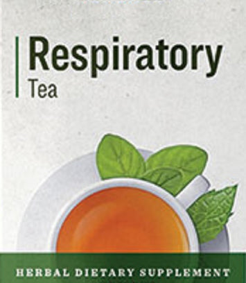 RESPIRATORY TEA - Organic Wildcrafted Minty Lung & Respiratory Support