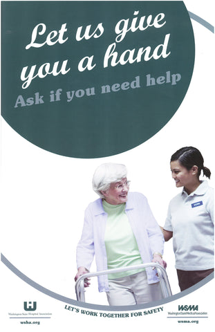 Patient Safety Poster - Ask For Help