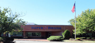 Super Brush Manufacturing Plant in Springfield, MA 01151 Made in the USA