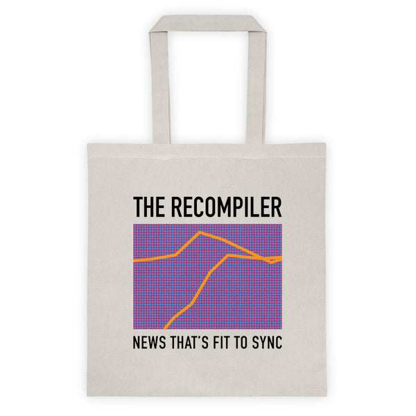 News That's Fit to Sync tote