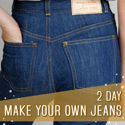 Make Your Own Jeans 2 Day Sewing Course
