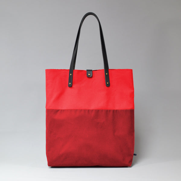PILAR Tote Bag <br/> Red & Ruby