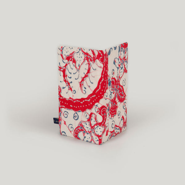 Marbled Batik <br/> Red & Cream