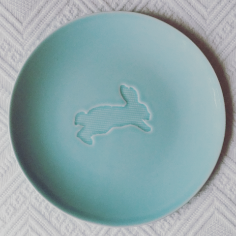 Animal Plates - Blue Bowl