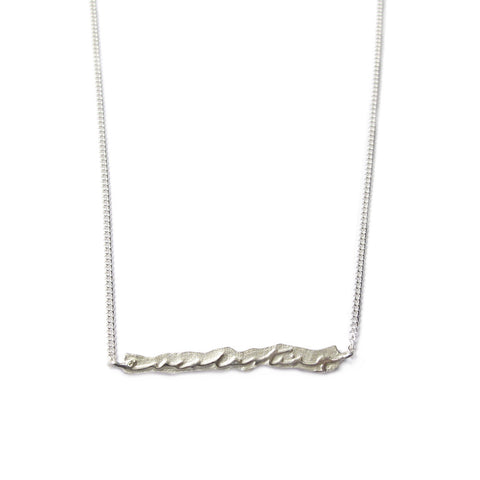 Silver 'Everlasting' Necklace