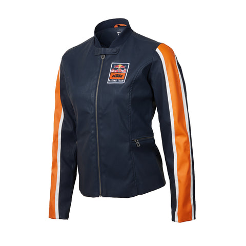 Red Bull KTM Racing Team Women's Faux Leather Moto Jacket