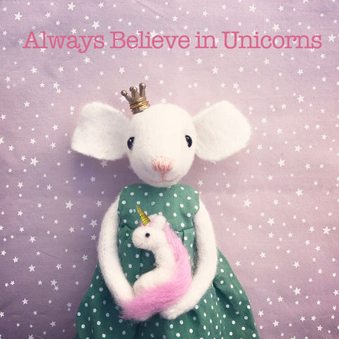 Letters111| ALWAYS BELIEVE IN UNICORNS