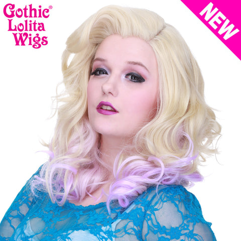Lace Front Merilyn - Blonde To Lavender -00601