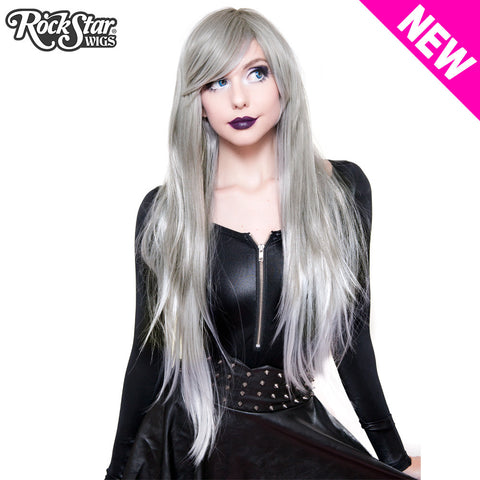RockStar Wigs® <br> Ombre Alexa™ Collection - Grey Silver Fade-00201
