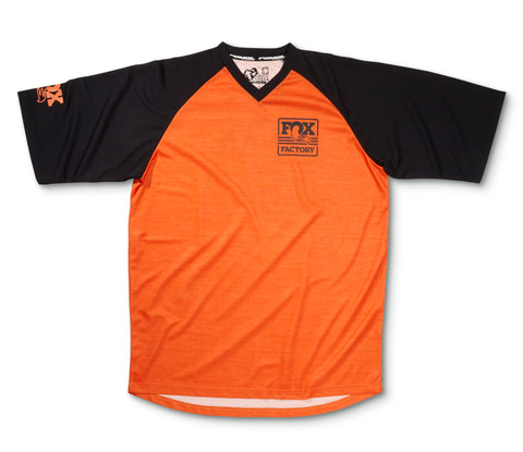 FOX Heritage Raglan SS Jersey, Orange/Black