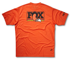 FOX Heritage Ride SS Jersey, Orange Heather