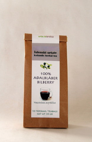 Icelandic sweaters and products - Bilberry - Herbal Tea Tea - Shopicelandic.com
