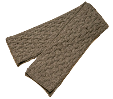 Icelandic sweaters and products - ARN Long Scarf - Grey Wool Accessories - Shopicelandic.com