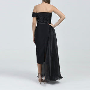 Black Strapless Dress