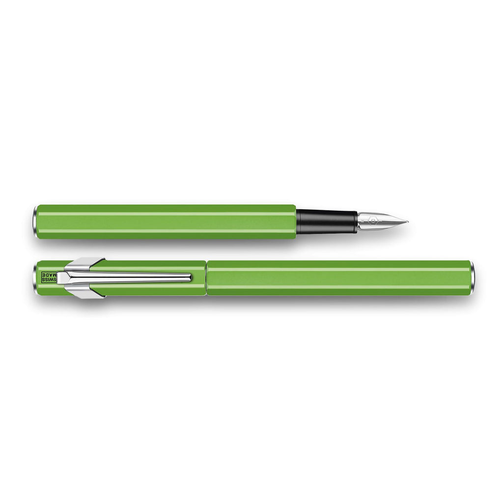 Caran d'Ache 849 Fountain Pen, Green Fluo Fountain Pen Caran d'Ache