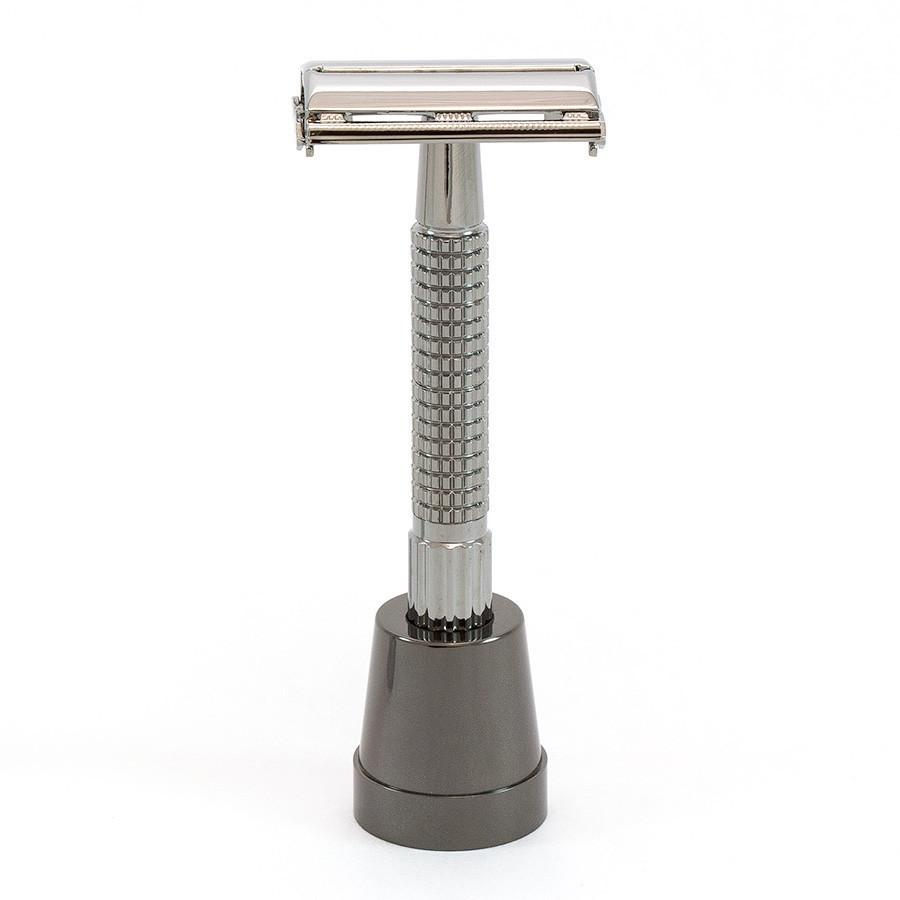 Fendrihan Nickel-Plated Base Stand for Safety Razor Shaving Stand Fendrihan
