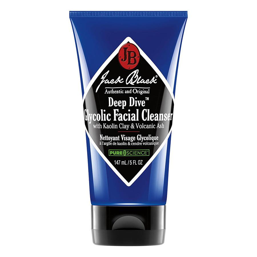 Jack Black Deep Dive Glycolic Facial Cleanser Men's Grooming Cream Jack Black