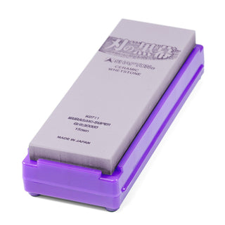 Shapton Kuromaku Professional Ceramic Whetstone Purple, 30000 Grit Sharpening Stone Shapton