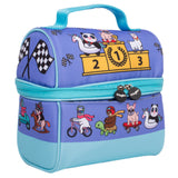 Retro Lunch Bag Donuts Fantasy Race