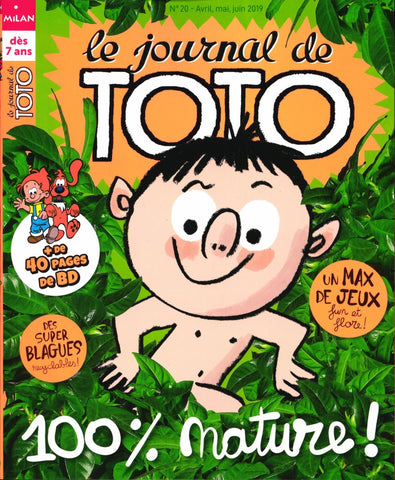 LE JOURNAL DE TOTO NO 20 - AVRIL MAI JUIN 2019
