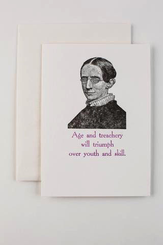 Treachery Card (Birthday)